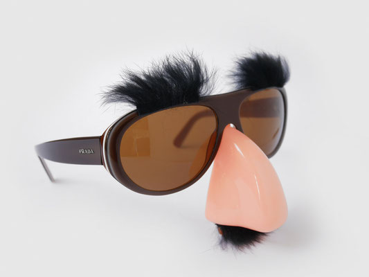 """GROUCHO"" FANCY SUNGLASSES"