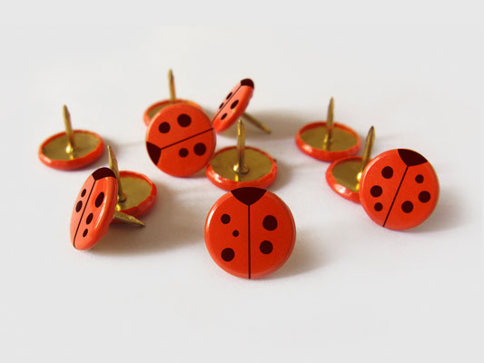 LADYBIRDS THUMBTACKS