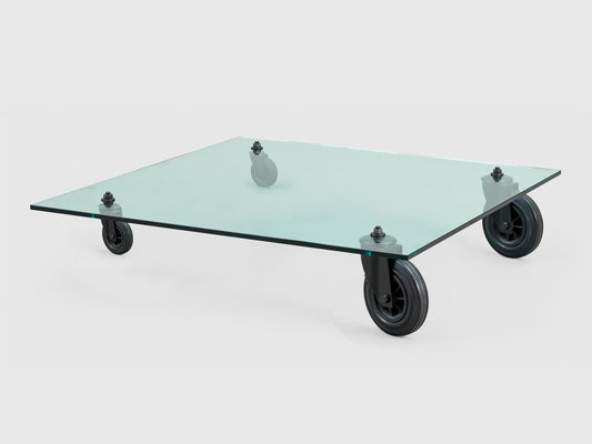 "GAE AULANTI ""HOT ROD"" TABLE"