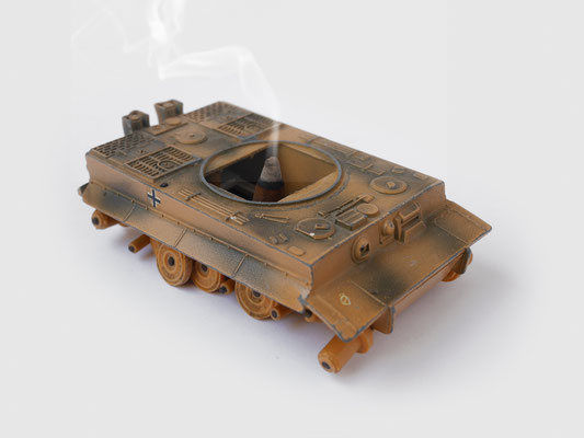 INCENSE BURNER TOY TANK