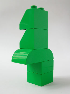 BRICK ART GREEN - VUE 2