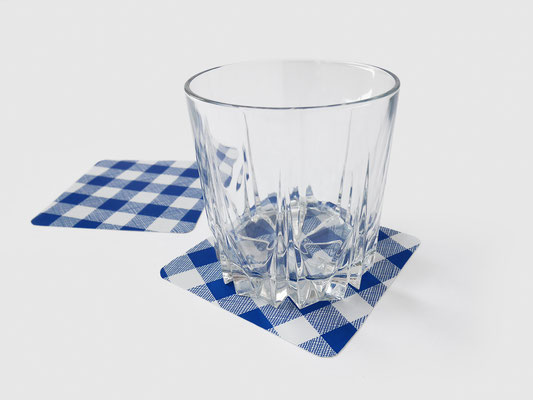 COASTERS CUT OUT TABLECLOTH