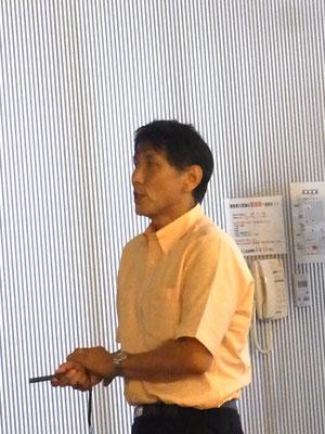 森林総合研究所東北支所生物被害研究グループ長 中村克典氏