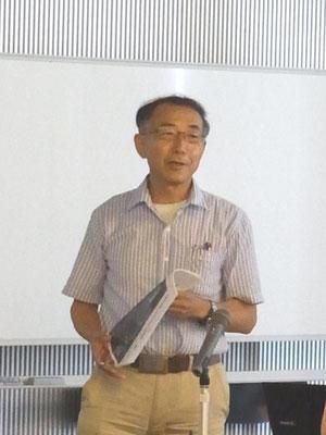 富士大学経済学部経済学科教授 遠藤元治氏