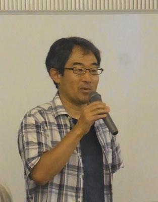三田副代表による開会宣言
