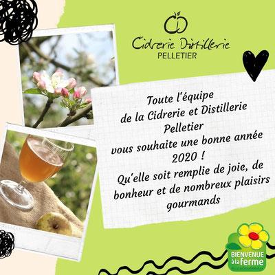 Création de l'identité visuelle et du logo de la Cidrerie Distillerie Pelletier - Graphiste Sarthe