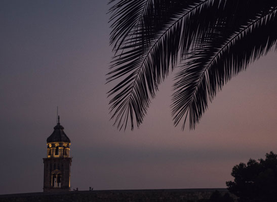 Coucher de soleil  Dubrovnik