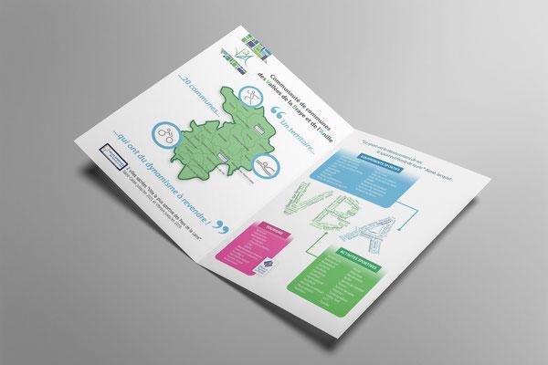 Création d'une plaquette à l'occasion d'un événement sportif - Graphiste Sarthe