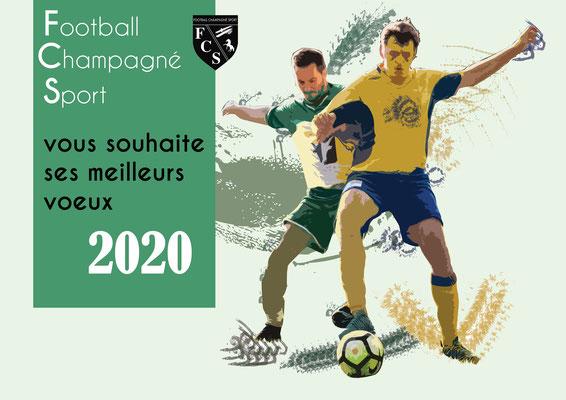 Calendrier d'un club de foot - Graphiste Sarthe
