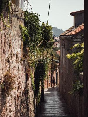 Ruelle ville ancienne Dubrovnik