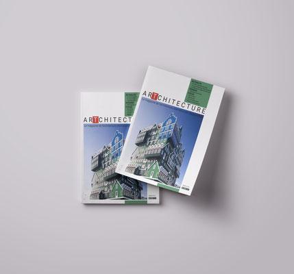 Création d'un magazine d'architecture  et de son logo