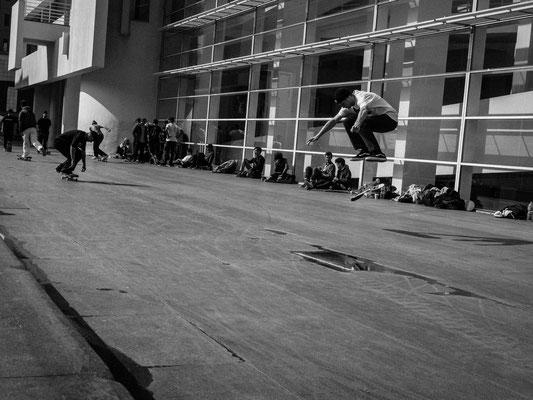 Skater Barcelone
