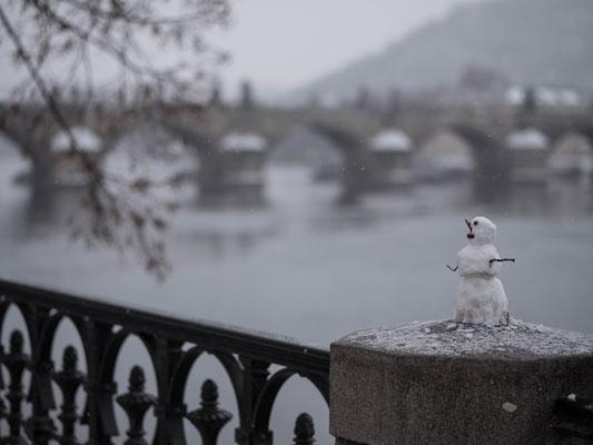 Séjour à Prague sous la neige