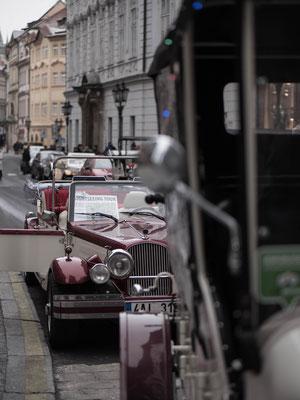 Séjour à Prague, voitures anciennes