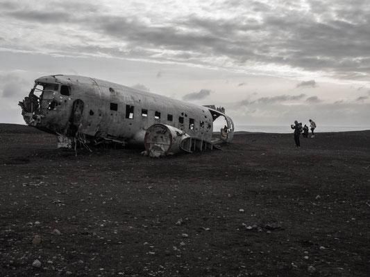 Avion US Navy - Road trip 10 jours en Islande