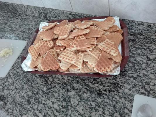 Ein Ergebnis einer Kochstunde