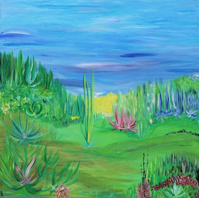 Bild Nr. 138, Format 70/70, Entspannung, Preis Fr. 560.00