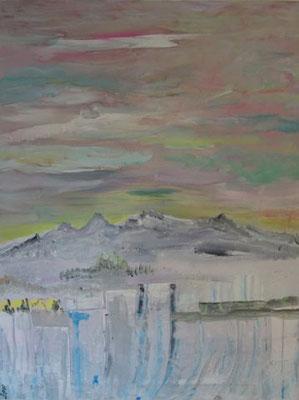 Bild Nr. 225, Format 70/90, Karge Landschaft, Preis Fr. 1'260.00