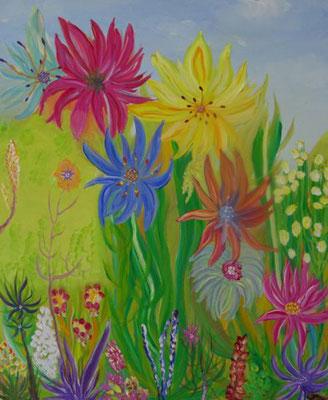 Bild Nr. 252, Format 50/60, Blumenwunder, Preis Fr. 540.00