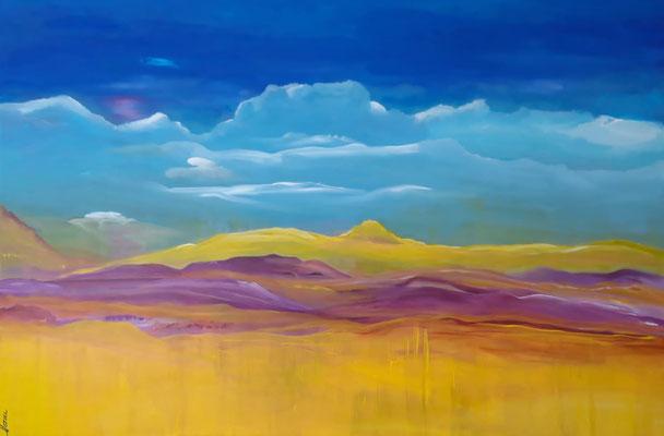 Bild Nr. 338, Format 120/80, Excellente Wolken, Fr. 1'800.00