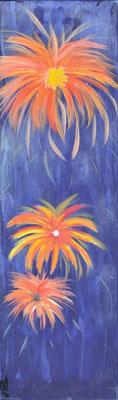 Bild Nr. 49, Format 30/100, Sommerblumen 3, Preis Fr. 380.00
