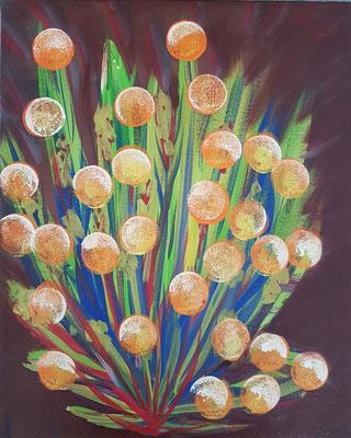 Bild Nr. 373, Format 33/41, Mandarinbusch, Preis Fr. 130.00