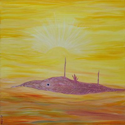 Bild Nr. 140, Format 70/70, Neuentdeckung im Ozean, Preis Fr. 590.00