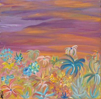 Bild Nr. 55, Format 40/40, Blütenvielfalt, Preis Fr. 190.00