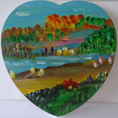 Bild Nr. 284, Format Herz 30/30, Herzfluss, Preis Fr. 260.00