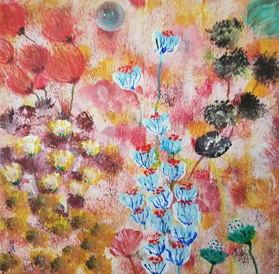 Bild Nr. 292, Format 20/20, Blumenarrangement, Preis Fr. 85.00