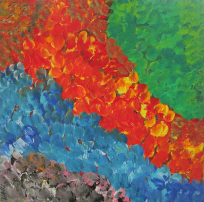 Bild Nr. 33, Format 30/30, Farbenfreude, Preis Fr. 130.00
