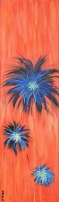 Bild Nr. 40, Format 30/100, Sommerblumen 2, Preis Fr. 380.00