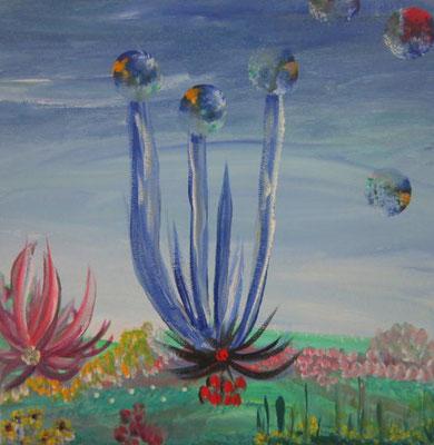 Bild Nr. 10, Format 20/20, Erde Blume, Preis Fr. 85.00