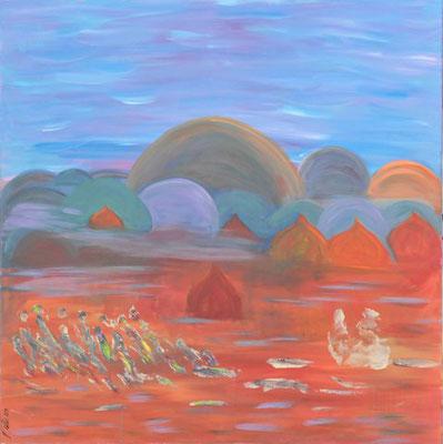 Bild Nr. 165, Format 100/100, Land der Nomaden, Preis Fr. 1250.00