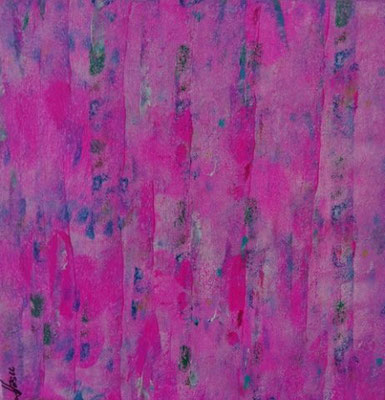 Bild Nr. 257, Format 30/30, Pink-Vorhang, Preis Fr. 130.00