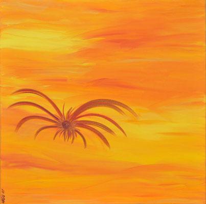 Bild Nr. 132, Format 70/70, Fliegende Spinne, Preis Fr. 620.00