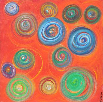 Bild Nr. 111, Format 60/60, Tiefen-Farbstudie, Preis Fr. 560.00