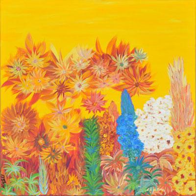 Bild Nr. 114, Format 60/60, Intuitive Farbenwelt, Preis Fr. 620.00