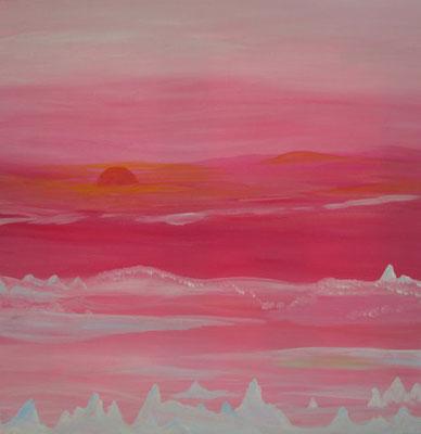 Bild Nr. 67, Format 40/40, Rosa Winter, Preis Fr. 240.00