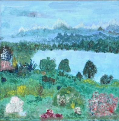 Bild Nr. 23, Format 30/30, Kinderfantasie, Preis Fr. 130.00