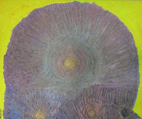 Bild Nr. 92, Format 60/50 3-Dimensional, Versteinert, Fr. 440.00