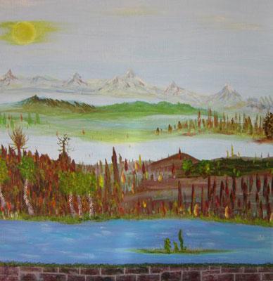 Bild Nr. 203, Format 50/50, Überflutet, Preis Fr. 280.00
