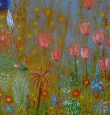 Bild Nr. 242, Format 40/40, Tiefsee Tulpen, Preis Fr. 295.00