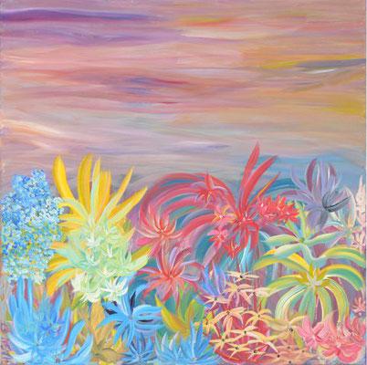 Bild Nr. 109, Format 60/60, Entzückende Pflanzenwelt, Preis Fr. 550.00