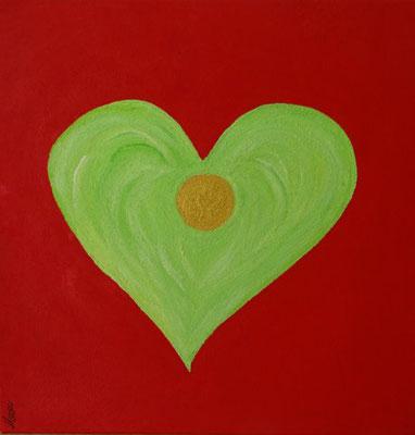 Bild Nr. 240, Format 40/40, Herzenergie, Preis Fr. 285.00