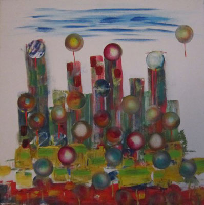 Bild Nr. 70, Format 40/40, Experiment, Preis Fr. 190.00