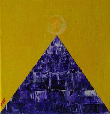Bild Nr. 277, Format 20/20, Licht ob Pyramide, Preis Fr. 85.00