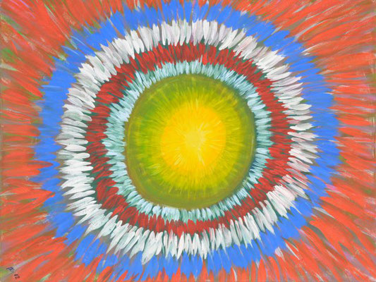 Bild Nr. 145, Format 80/60, Indianer Kreis, Preis Fr. 750.00