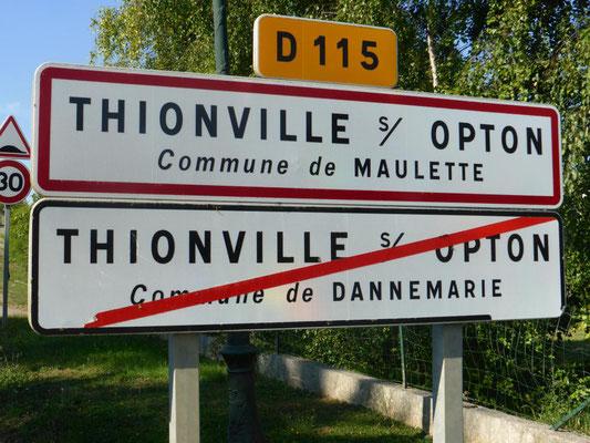 Partage entre deux communes (78)