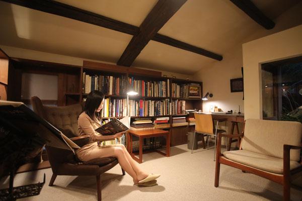憧れの書斎です